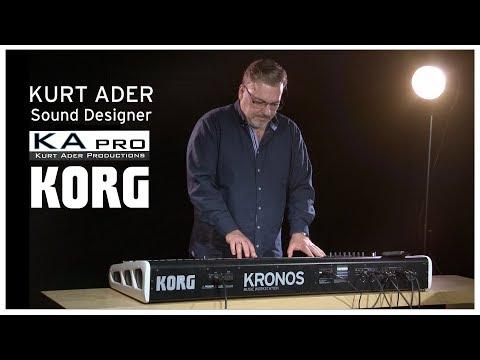 Le Sound Designer KURT ADER présente sa nouvelle collection pour le KORG KRONOS ( la boite noire)