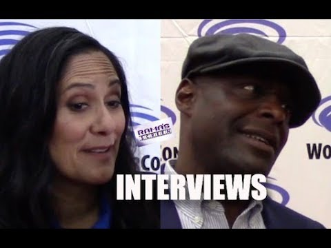 My Interviews with Sakina Jaffrey and Paterson Joseph About 'TIMELESS' New Season