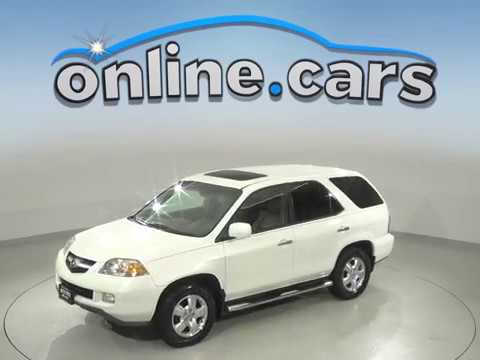 C99153RO Used 2006 Acura MDX SUV White Test Drive Review For Sale