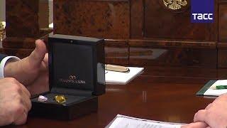 Путину показали самые дорогие алмазы