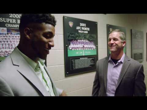 John Harbaugh Challenges Marlon Humphrey To Lock Him Up   Baltimore Ravens