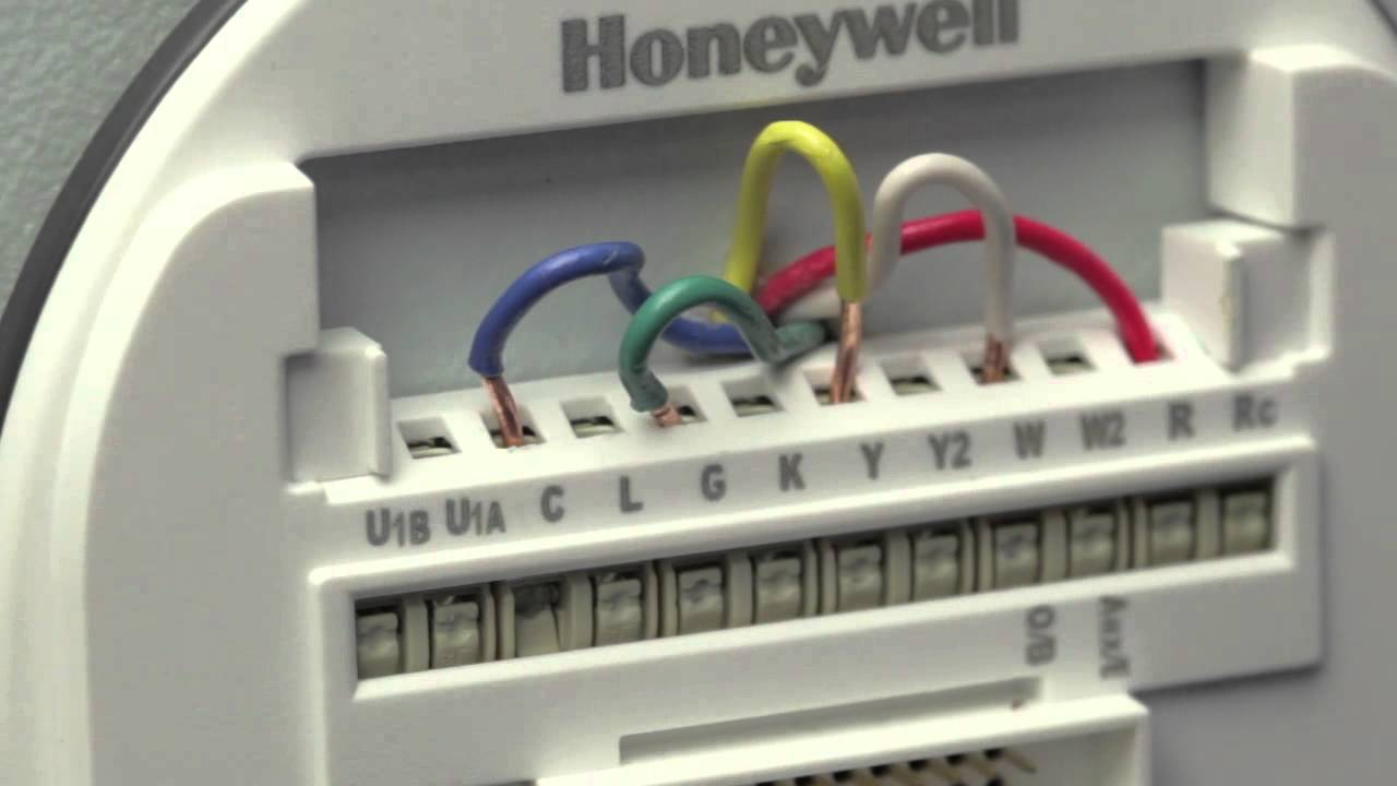 how to ensure your lyric thermostat wires are secure horizontal wallplate youtube [ 1280 x 720 Pixel ]