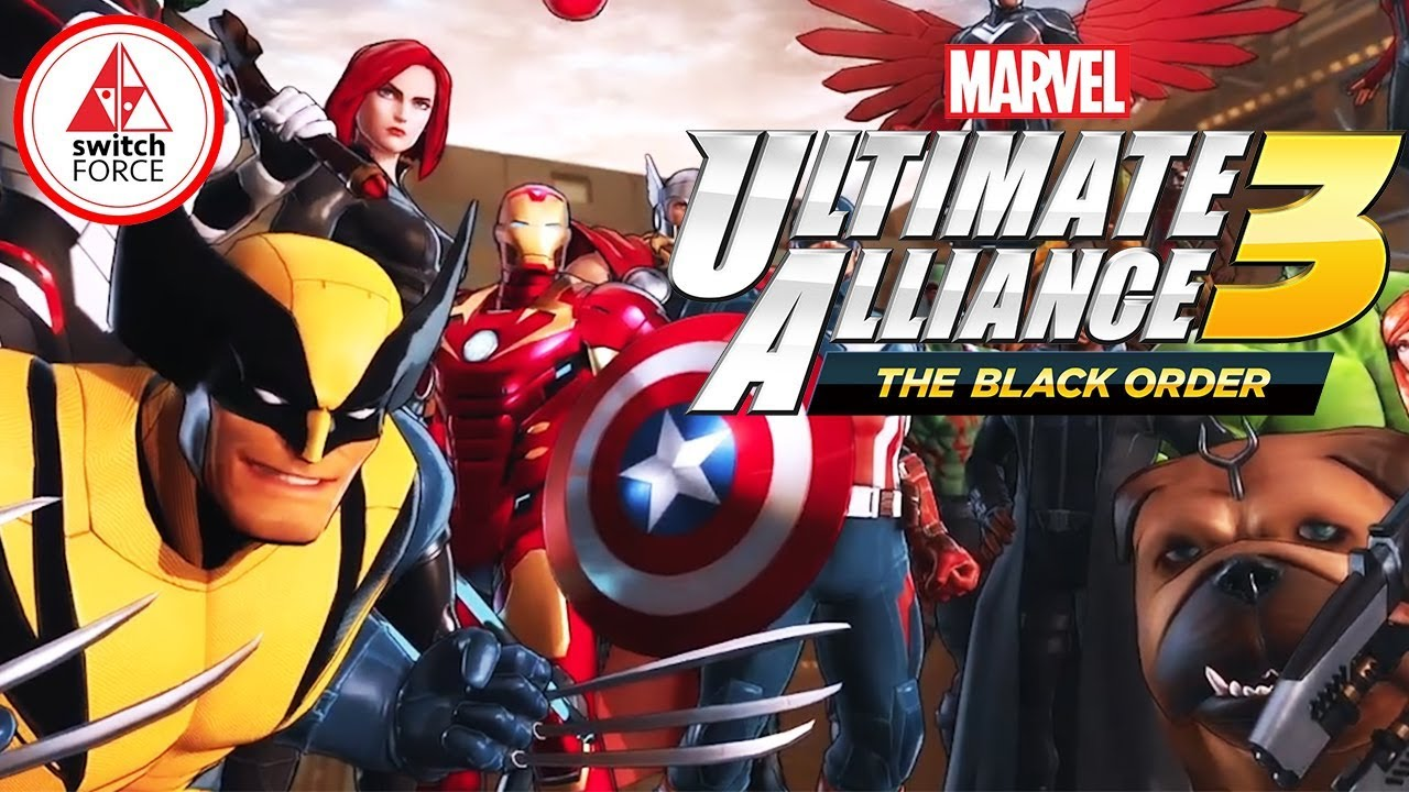 Marvel Ultimate Alliance 3 SWITCH EXCLUSIVE! FIRST ...