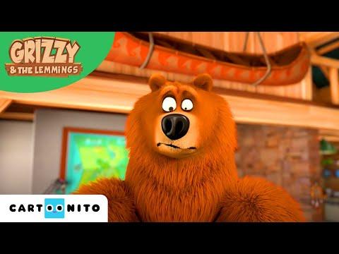 Grizzy en de Lemmings | Robotaanval | Boomerang