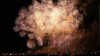 長岡花火 「この空の花」 2012年8月3日