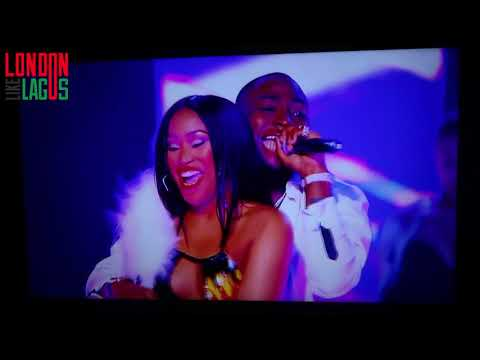 DAVIDO performs IF | Live at  the 2017 MOBO AWARDS