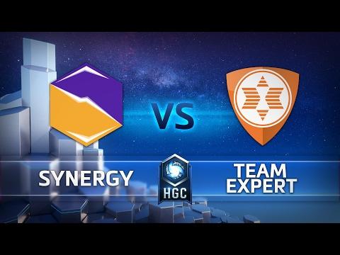 Synergy vs expert - HGC EU Group Play - G1