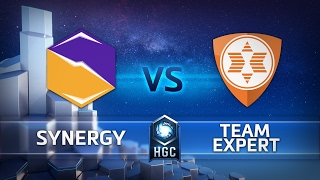 HGC EU - Phase 1 - Game 1 - Synergy vs Team expert