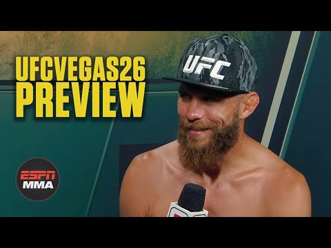 Donald Cerrone: The power and energy is going to Diego Sanchez, not Alex Morono