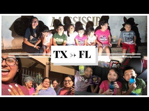 Travel Vlog TX to FL   WDW Summer 2018