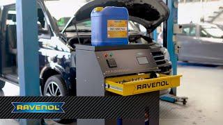 Professioneller Getriebeöl-Service mit Equipment & Knowhow von RAVENOL