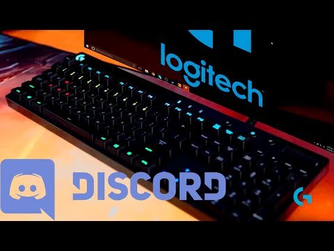 Logitech Gaming RGB Discord Applet - How to start and stop the