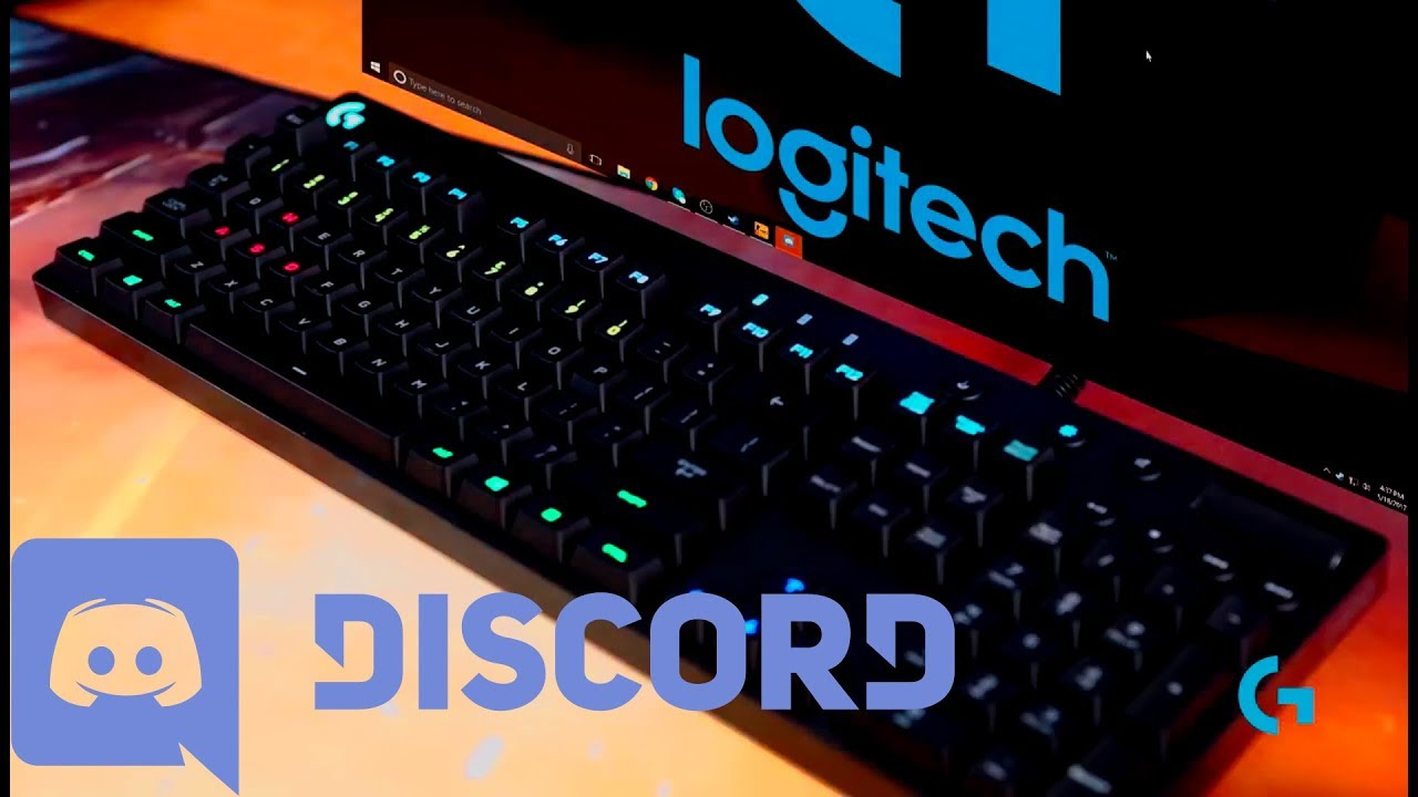 Logitech Gaming RGB Discord Applet - How to start and stop the applet