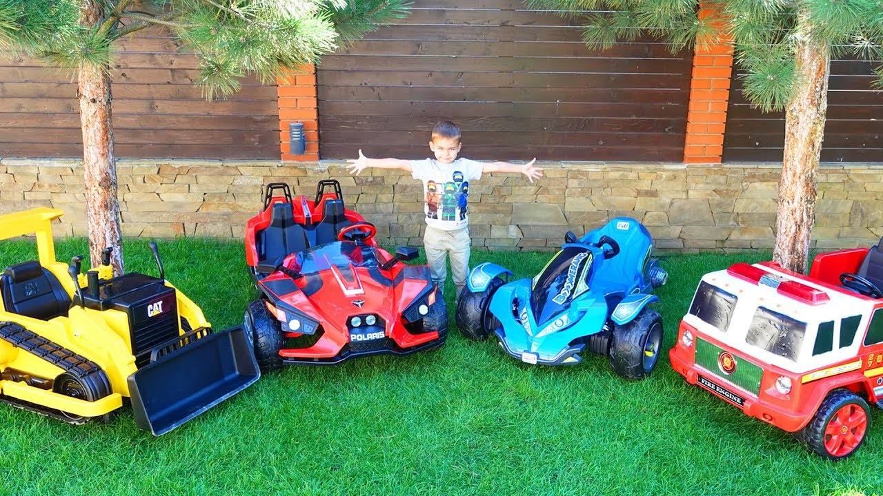 Dima ride on new power wheels cars