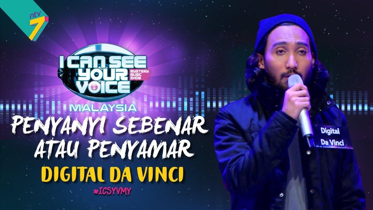 Penyanyi Sebenar Atau Penyamar - Digital Da Vinci  | #ICSYVMY