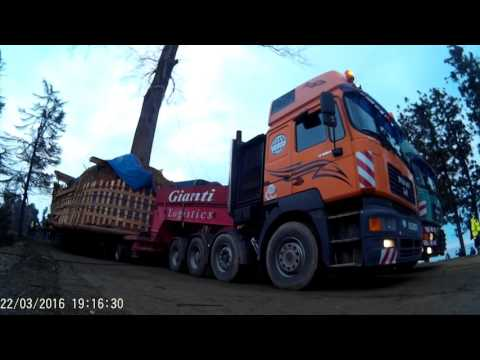 Gianti Logistics - Tree Transportation Project, Georgia 2016