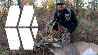SELF FILMED HUGE BUCK OKLAHOMA BOW HUNT