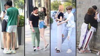 CUTE COUPLES FASHION ON THE STREET [TikTok China 抖音/Douyin] #relationship