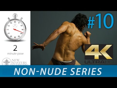 Human Body Figure Reference - Figure Drawing Reference Images (NON-NUDE SERIES DLDS #10) in 4K thumbnail