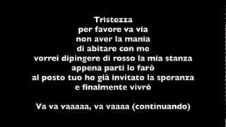 TRISTEZZA - ORNELLA VANONI (Base mp3 Karaoke testo)