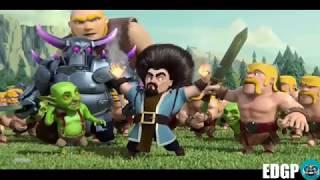 Película Oficial COMPLETA de Clash of Clans Clash royal |dilan Miranda|