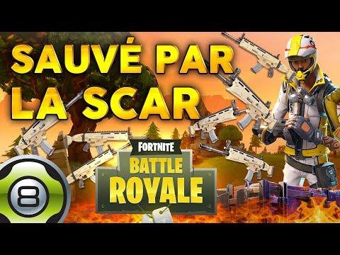 Sauvé par la SCAR... 😅 - TOP 1 🏆 - Fortnite Battle Royale FR