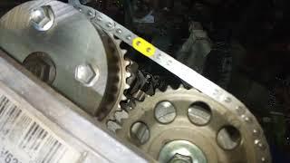 Скачать Тест на провисание цепи после ремонта двигателя 2AZ FE
