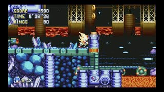 Sonic Mania: Lava Reef Zone Act 1 (Super Sonic) [1080 HD]
