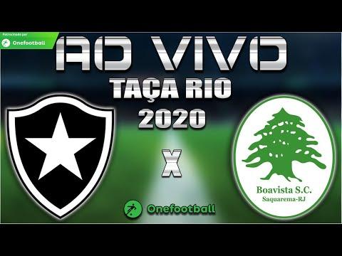 Botafogo x Boavista Ao Vivo   Taça Rio 2020   1ª Rodada   Narração