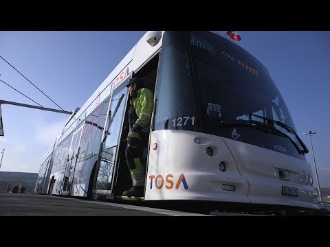 "ABB ""flash-charging"" buses go live in Geneva"