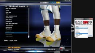 NBA 2K14 MyShoes Hack