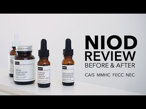 NIOD CAIS, FECC, NEC, MMHC 4 months review with before & after pictures | Deciem The Ordinary | LvL