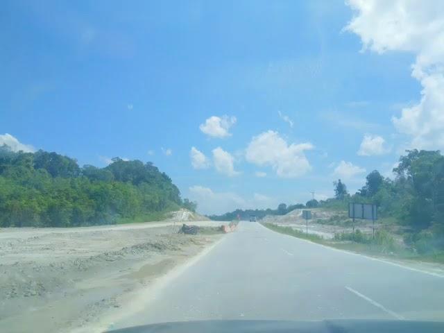 Pembinaan Jalan Pan Borneo Sarawak 2018!!