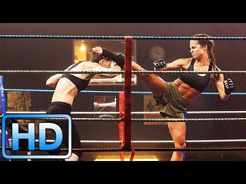 Лара Крофт дерется на ринге / Tomb Raider: Лара Крофт (2018)
