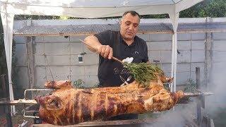 Молодая свинина на вертеле. Рецепт от Жоржа