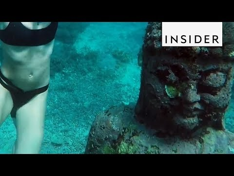 Underwater Buddha Garden