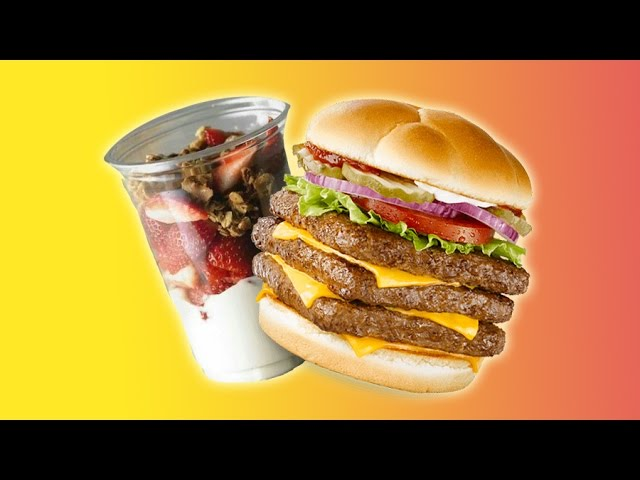 The Healthiest Fast Food Menu Options Youtube