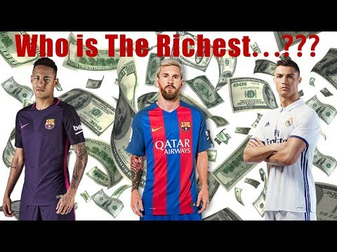 Top 10 Richest Footballers in The World 2018