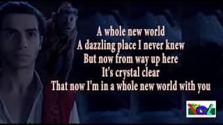 A whole new world lyric ( Peabo Bryson Feat Regina Belle)