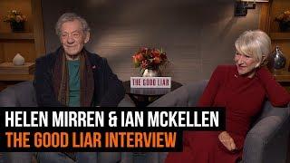Dame Helen Mirren & Sir Ian Mckellen | THE GOOD LIAR INTERVIEW