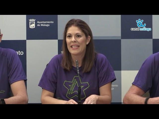 Noelia Losada, Concejala de deporte, presenta la III Travesía a nado Aliquindoi