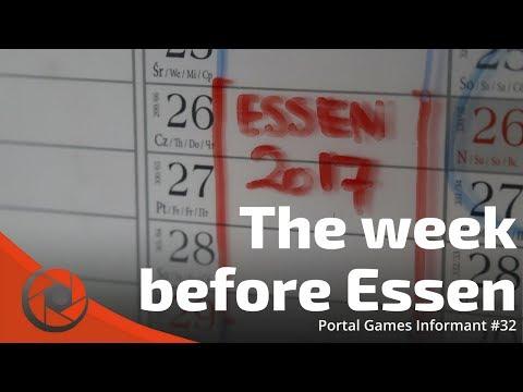 Portal Games Informant #33 - The week before Essen