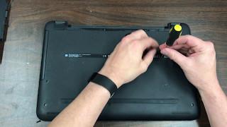 HP Notebook 15-ba014nr Tear Down