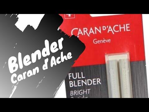 Blender Caran d'Ache - Test