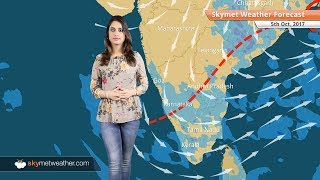Weather Forecast for Oct 5: Dry weather in Delhi, Mumbai, Rain in Chennai, Bengaluru