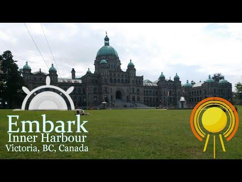 Inner Harbour, Victoria, BC : SOTV Embark