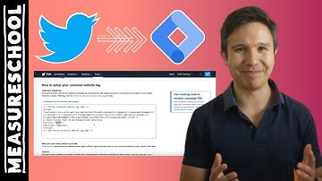 How to Install the Twitter Universal Website Tag with Google Tag Manager