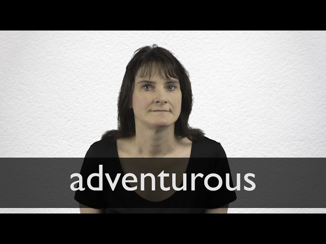 German Translation Of Adventurous Collins English German Dictionary