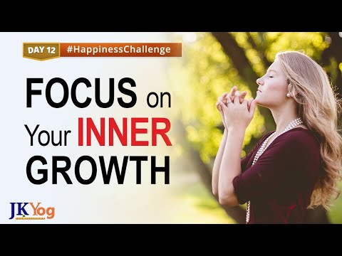 Focus on Your Inner Happiness and Self Growth   Happiness Challenge Day 12   Swami Mukundananda