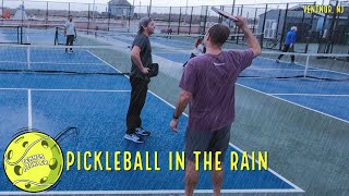 Can you play Pickleball in the Rain?